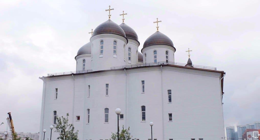 На Ходынке достроили необычный храм святого Сергия Радонежского
