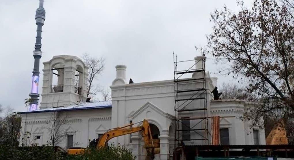 Строящийся в Останкине храм назвали «данью памяти» погибшим журналистам