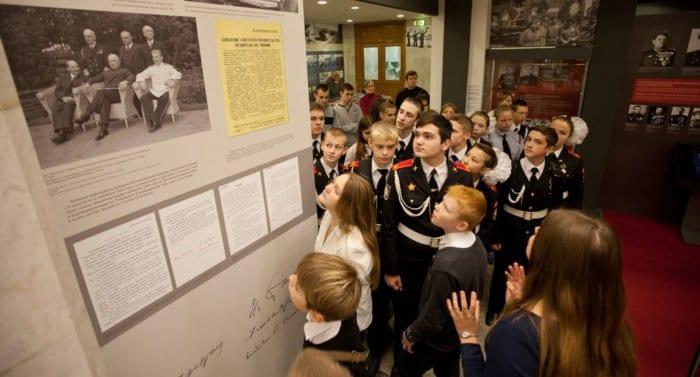 Музей Победы приглашает школьников на «Исторические субботы»
