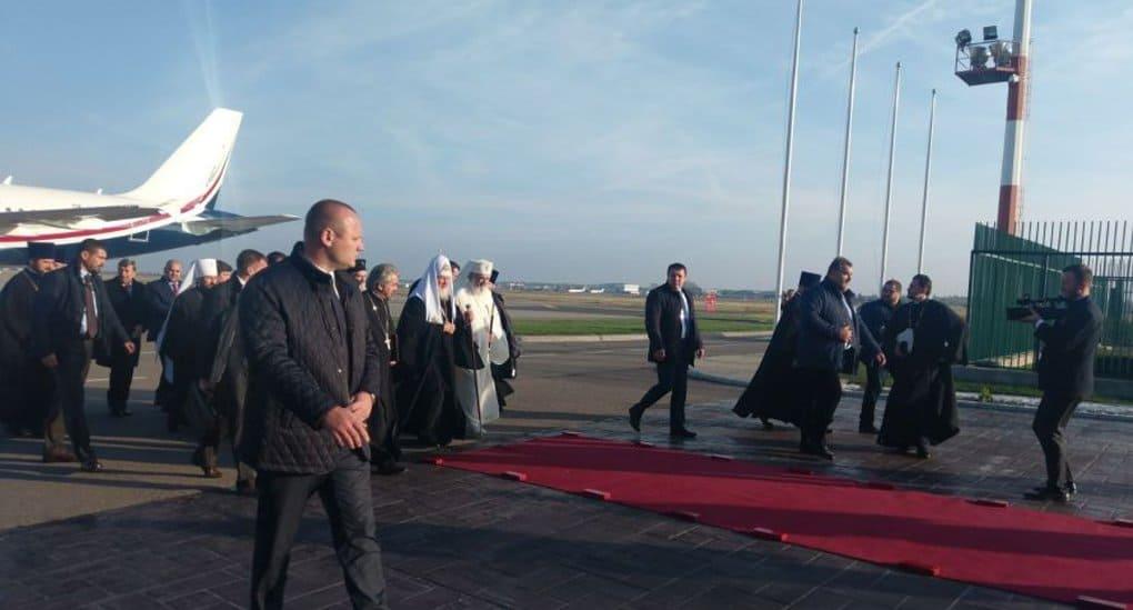 Патриарх Кирилл впервые прибыл с визитом в Румынию