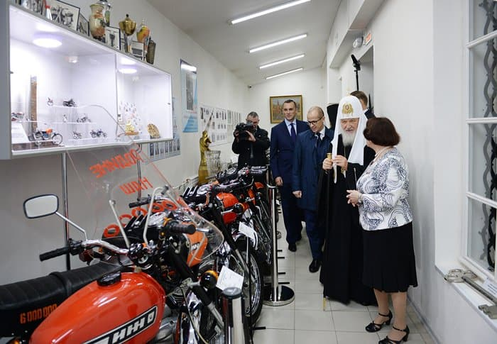 Патриарх Кирилл посетил Удмуртию