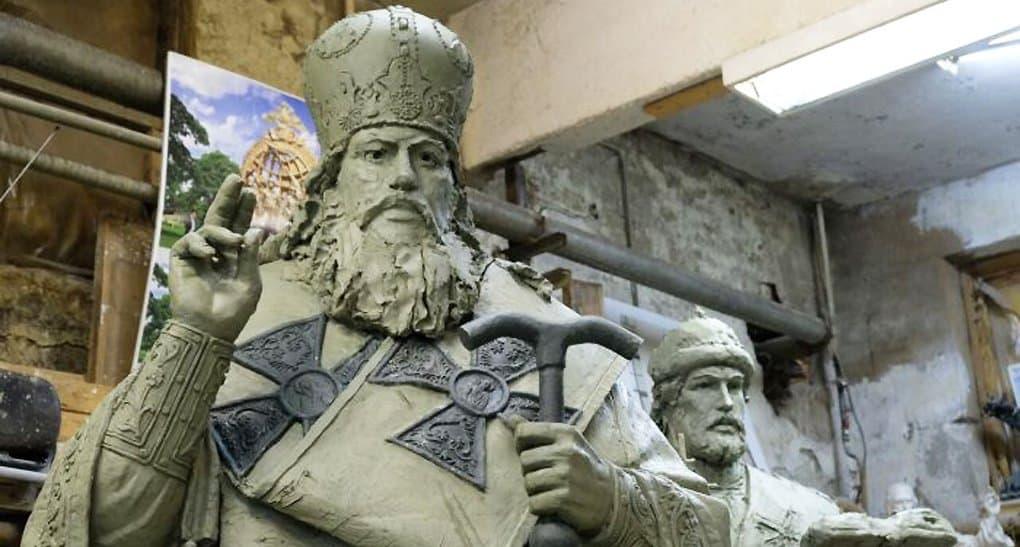 Завершается создание скульптур 16 русских патриархов