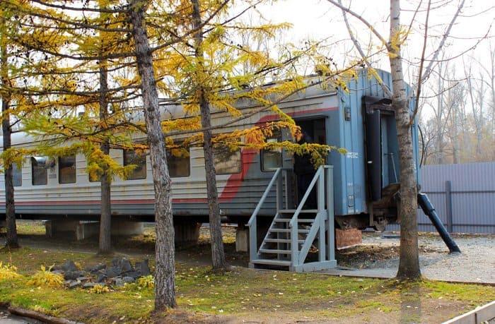 «Поезд милосердия» для бездомных создали в Хабаровске