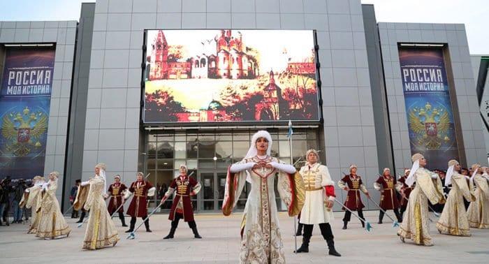 В Волгограде появился свой парк «Россия – Моя история»