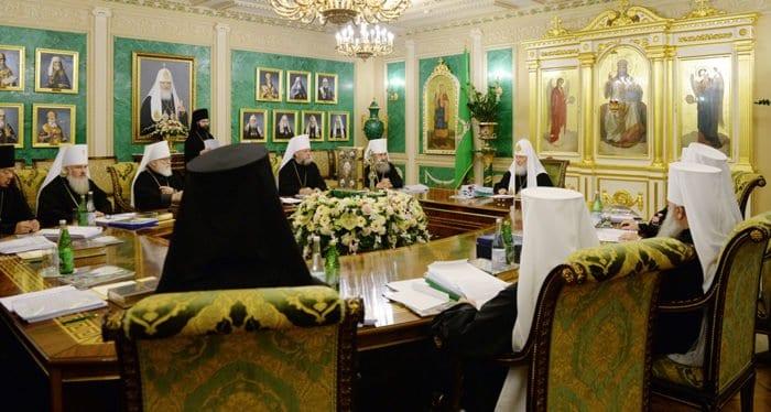 Подведены итоги заседания Священного Синода в Даниловом монастыре