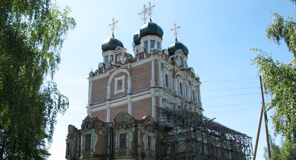 Уникальный «строгановский» храм завершают реставрировать под Архангельском