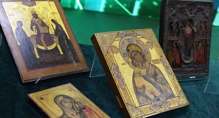 Церкви вернули ценные иконы, спасенные от вывоза за рубеж