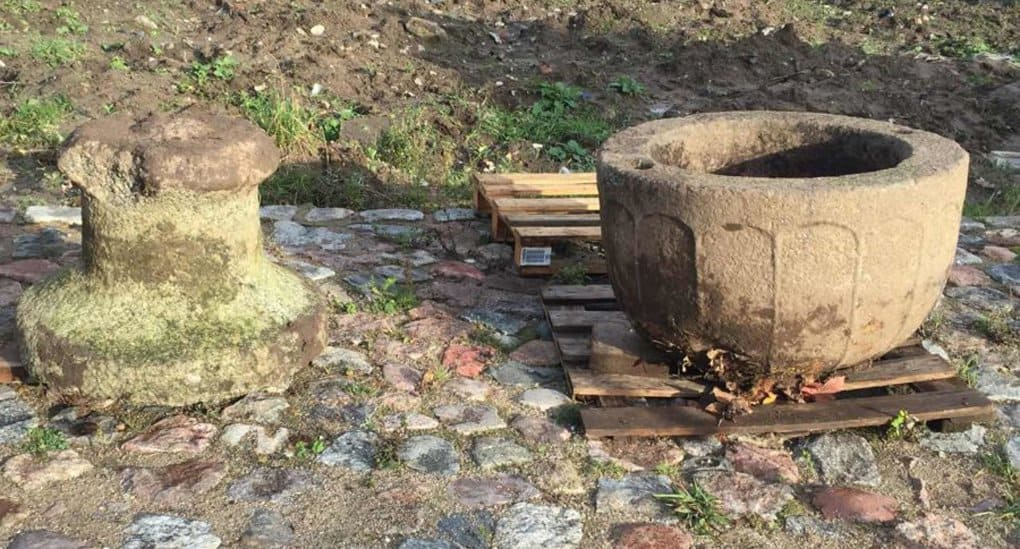 Старинную чашу, найденную под Калининградом, могут использовать для крещения детей
