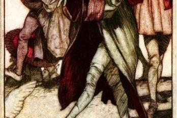 Иллюстрация Артура Рэкема