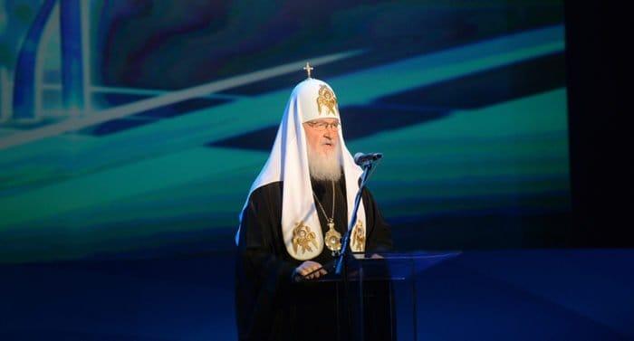 Кино должно служить вечным идеалам добра и любви, - патриарх Кирилл
