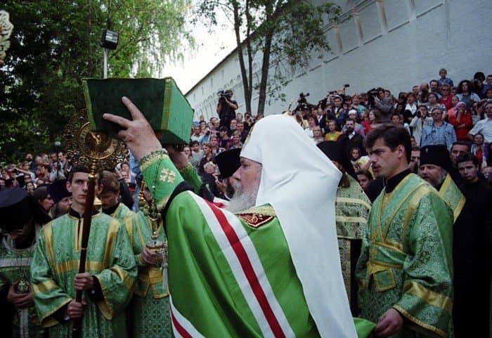 22 августа 1998 года. Возвращение в Саввино-Сторожевский монастырь мощей преподобного Саввы Сторожевского