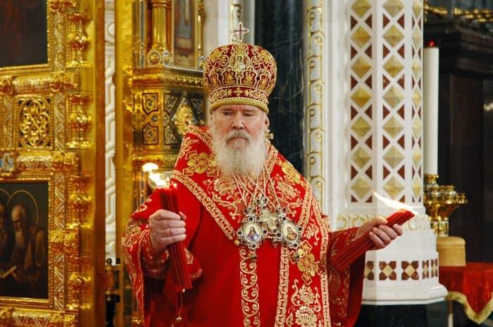 1 мая 2005 года. Москва. Храм Христа Спасителя. Пасха Христова