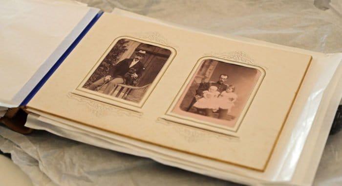 Музею в Ливадии подарили уникальный фотоальбом семьи Александра II