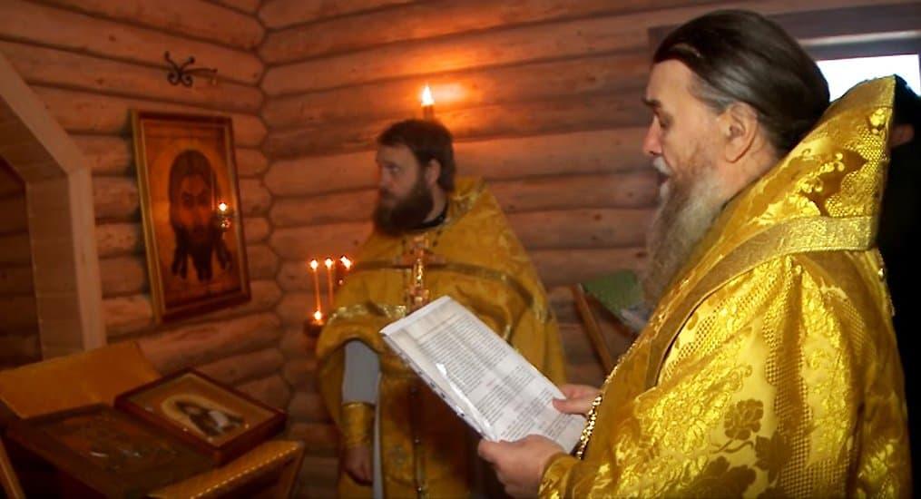 Первую Литургию совершили на родине преподобного Серафима Вырицкого