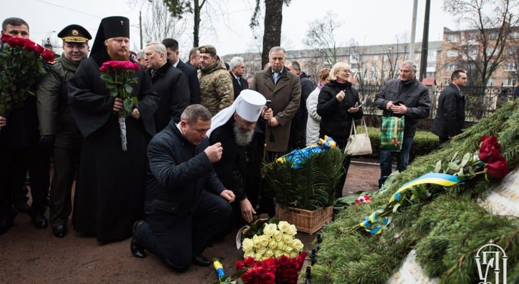 Митрополит Киевский Онуфрий почтил память героев Чернобыля
