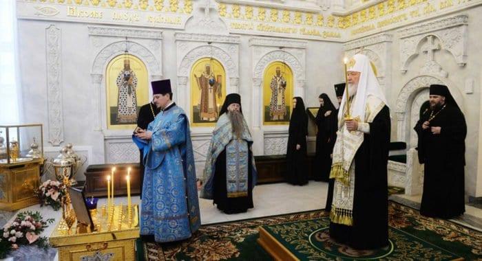 В Москве почтили память Святейшего Патриарха Алексия II