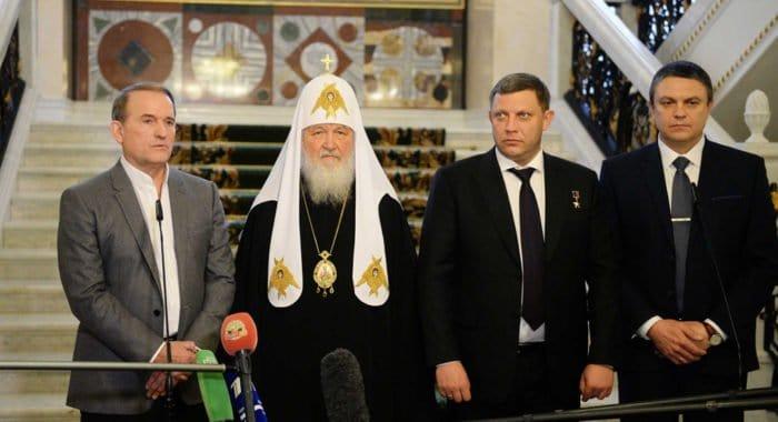 Патриарх Кирилл заявил о согласовании при помощи Церкви обмена пленными в Донбассе
