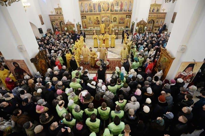 Храм Торжества Православия освятил патриарх Кирилл в Алтуфьеве