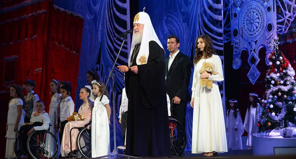 Патриарх Кирилл в Кремле поздравит детей с Рождеством