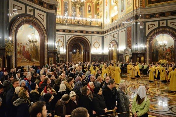 Патриарх совершил всенощное бдение в канун дня памяти Николая Чудотворца