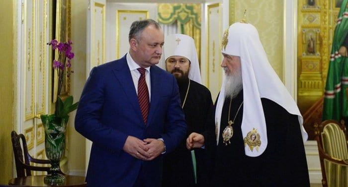 В 2018-м патриарх Кирилл посетит Всемирный конгресс семей в Молдове