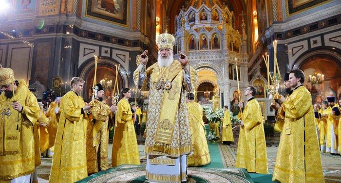 Патриарх Кирилл на Рождество совершит Литургию в храме Христа Спасителя
