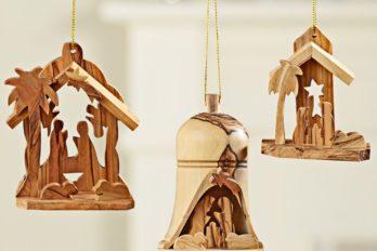 Сувенирные деревянные вертепы из Иерусалима