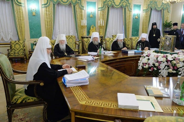 Подведены итоги последнего в 2017 году заседания Священного Синода