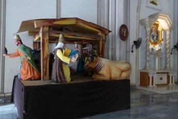 Вертеп в кафедральном соборе города Гуаякиль, Эквадор. Фото Arabsalam/CC BY-SA 4.0