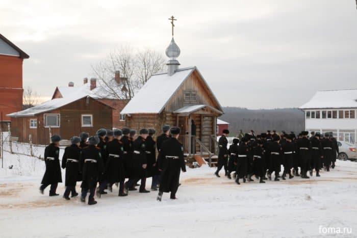 Не пустые слова: присяга в Свято-Алексеевской пустыни