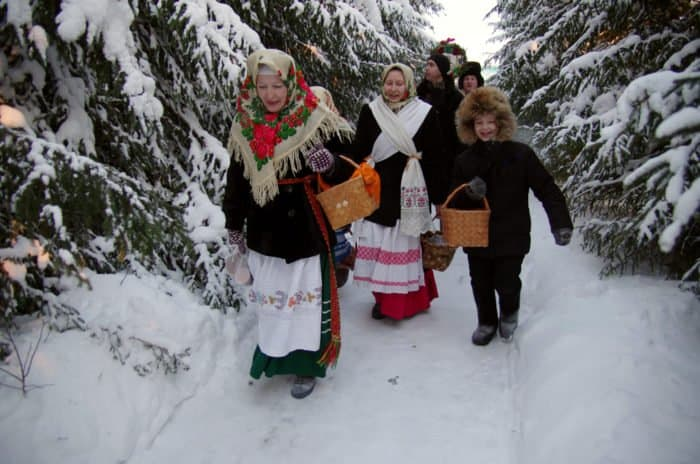 Одна абсолютно рождественская деревня