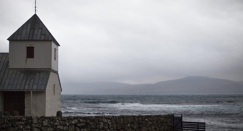Православные помолились в самой древней церкви Фарерских островов