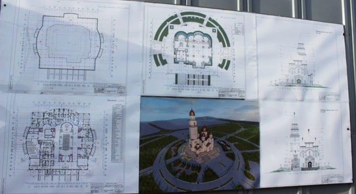 Самый большой храм Северного Кавказа построят к 2020 году