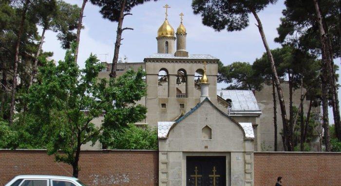 Депутат передал русскому храму в Тегеране икону Крещения Господня