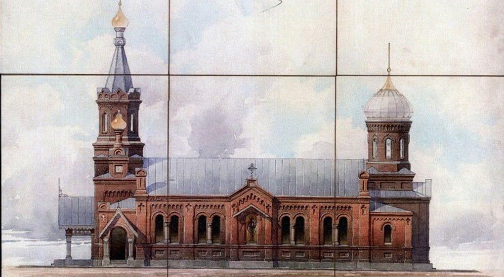 Утраченный храм святых Хрисанфа и Дарии воссоздадут в Петергофе