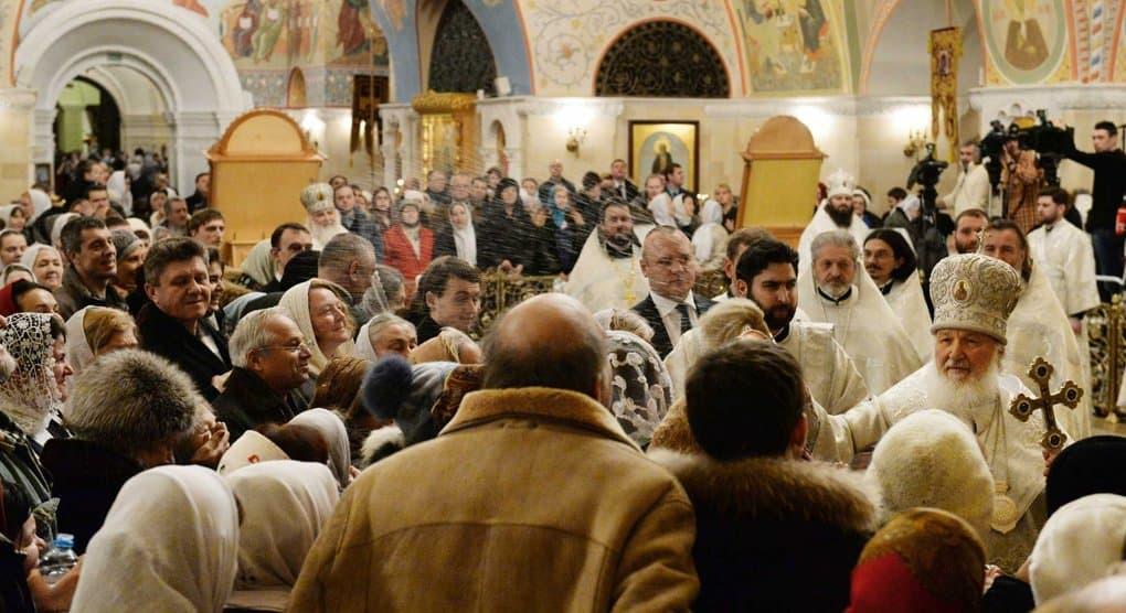В ночь на 19 января Крещение Господне отпраздновали около 1,8 млн. россиян