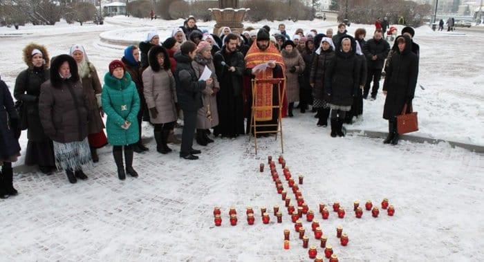 В России молятся о прекращении абортов