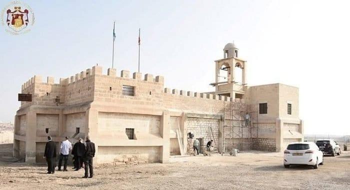 У Иордана восстановили древний монастырь Иоанна Предтечи