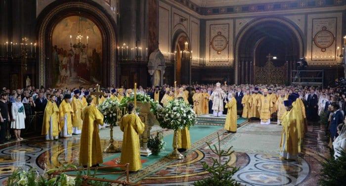 В рождественских богослужениях приняли участие более 2,5 млн. россиян