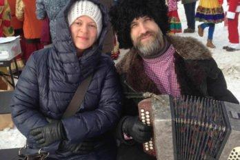 Рождественский праздник в поселке Лисий Нос. Фото Натальи Поночевной