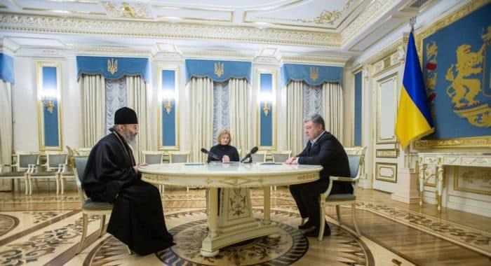 Президент Украины благодарен Украинской Церкви за помощь в обмене пленными