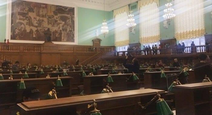 После реставрации в Москве открылся самый большой читальный зал в Европе