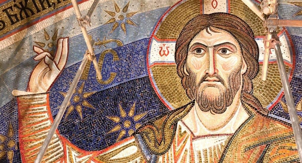 Завершилась внутренняя отделка мозаикой храма святого Саввы в Белграде