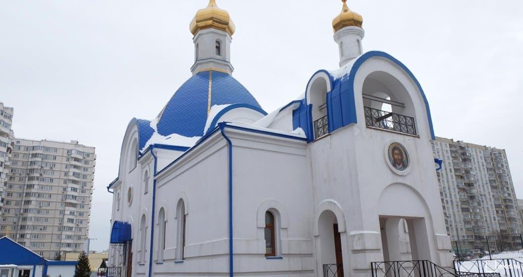 Храм в честь покровителя десантников открылся в Северном Бутове