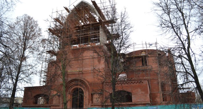 На востоке Москвы возобновилось строительство храма в честь Саввы Сторожевского
