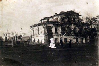 Крестовоздвиженский собор. Нарым. Начало XX века