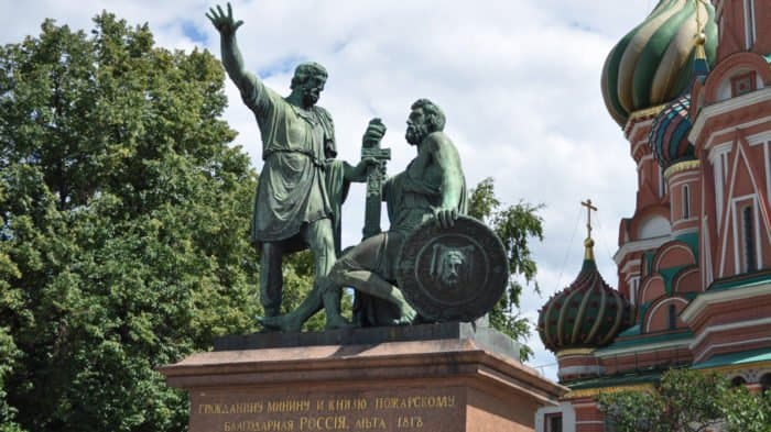 Памятнику Минину и Пожарскому в 2018-м исполняется 200 лет