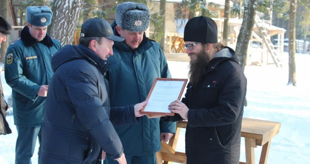 Священники защитят от пожаров село на Орловщине