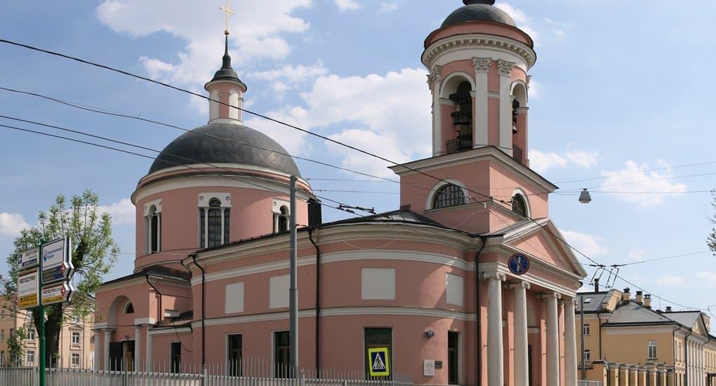 Церкви вернули храм Иверской иконы Божией Матери на Всполье