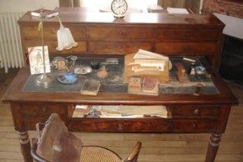 Кабинет Николая Бердяева в доме в Кламаре